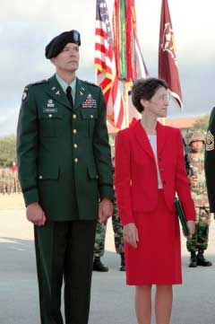 Col. William and Marilyn Hartman