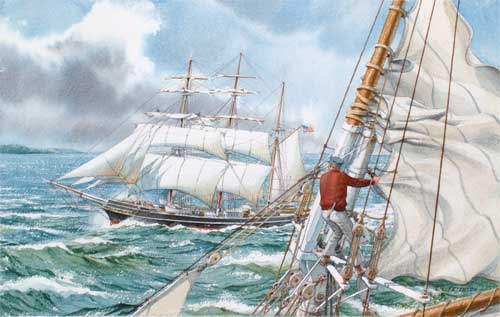Shortening Sail