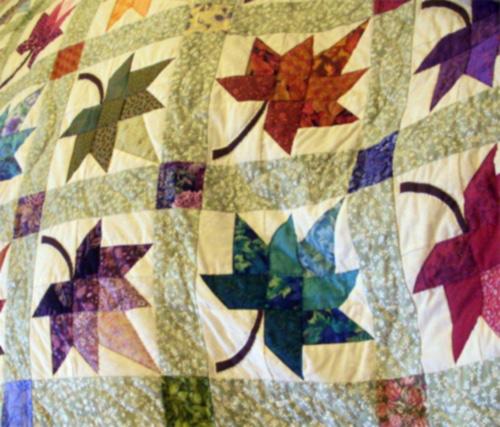 Amish quilt design, Autumn Splendor